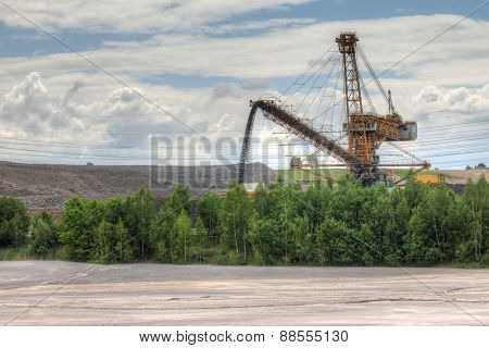 Idyllic Industrial Landscape