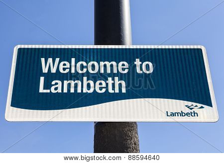 Welcome To Lambeth