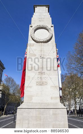 Cenotaph War Memorial In London