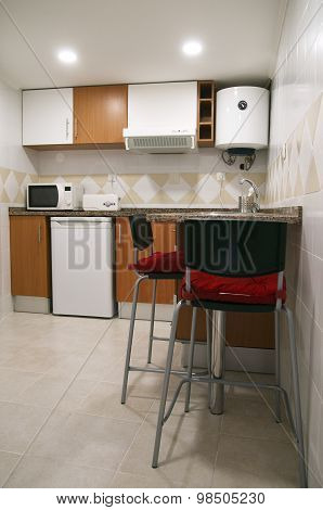 Small Kitchen Chairs And Appliances