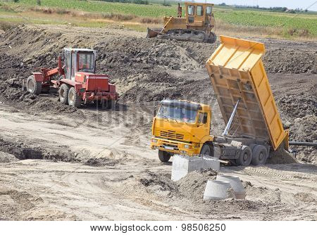 Construction Site Atmosphere