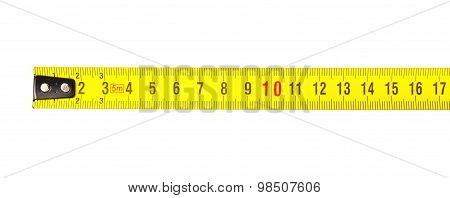 Tape Measure In Centimeters