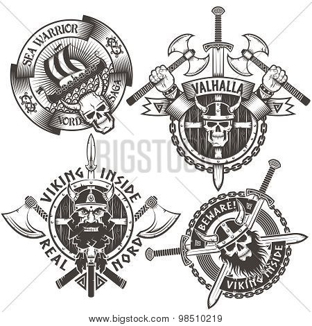 Viking emblems