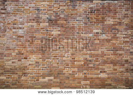 Modern Brown Bricks Wall Pattern, Background