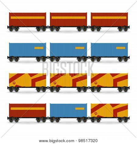 Containers on a Railway Container Platform