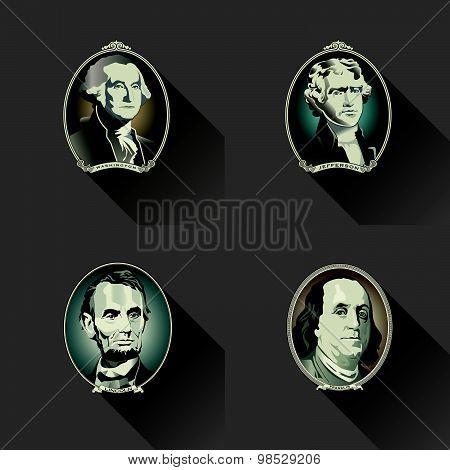 Money Figurehead Background