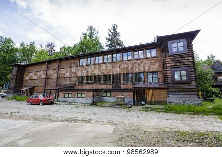The Wooden Building Of The Arts Gallery, Zakopane