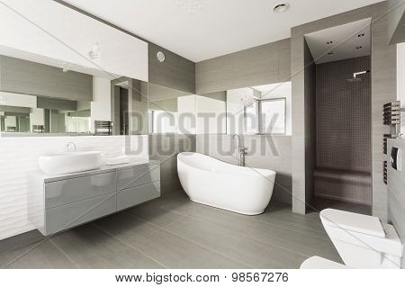 White Exclusive Washroom
