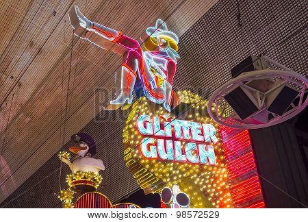 Las Vegas , Glitter Gulch