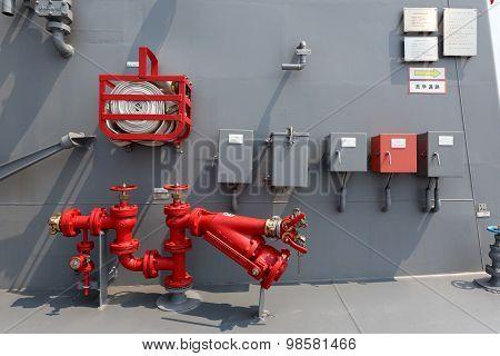 Warship - hydrant
