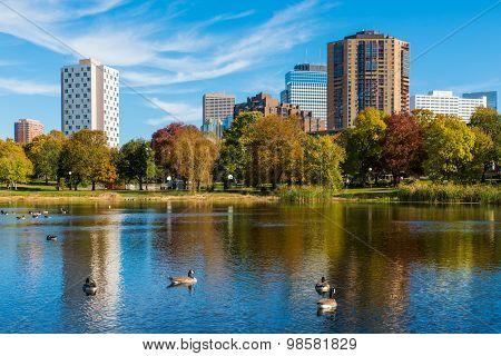 Loring Park In Autumn 4