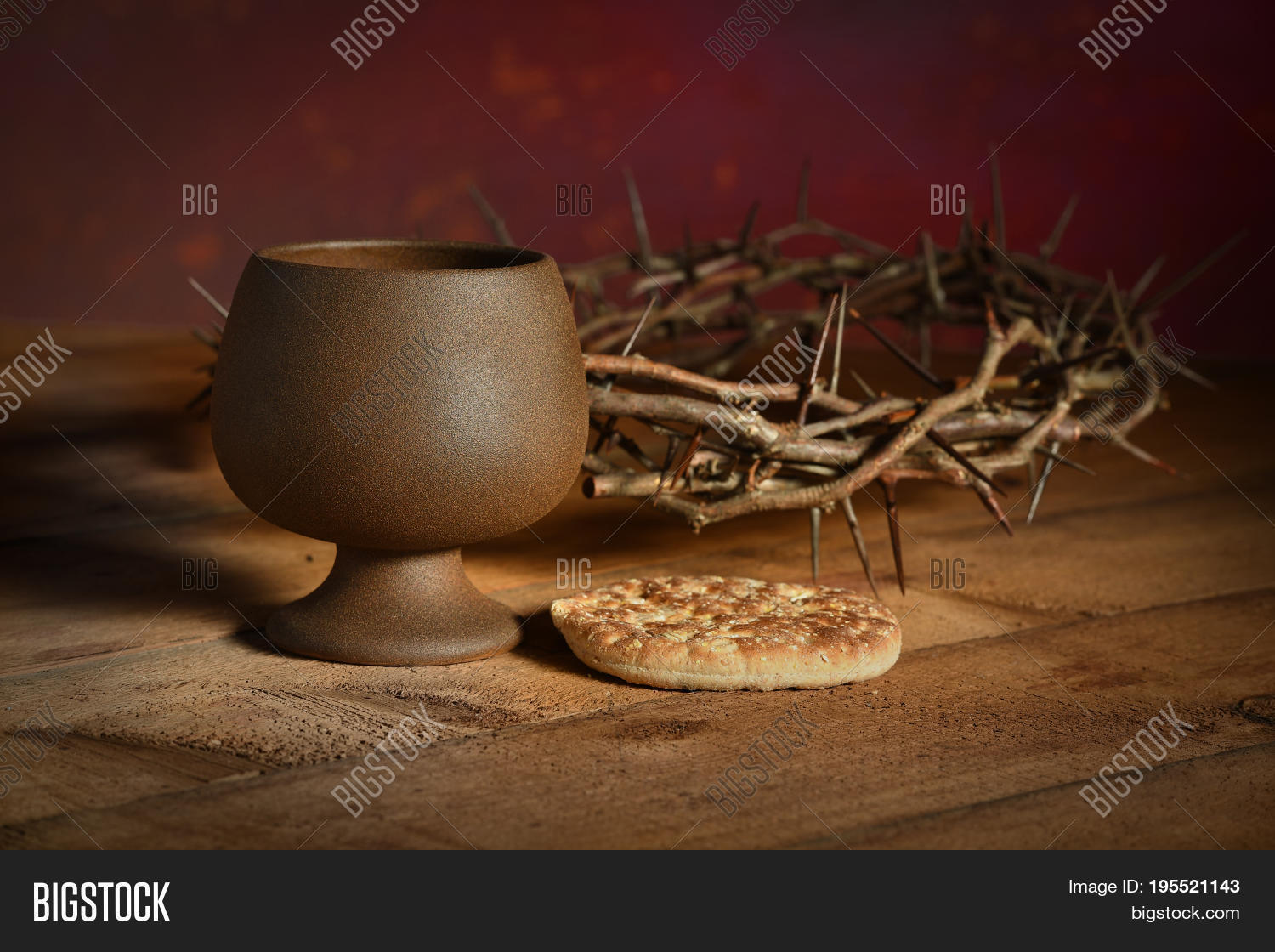communion table bread image & photo (free trial) | bigstock