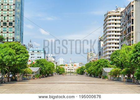 Scenic View Of Ho Chi Minh Square, Vietnam