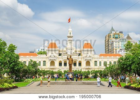 View Of The Ho Chi Minh City Hall, Vietnam