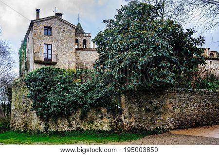 Old Mansion In Vilert, Spain