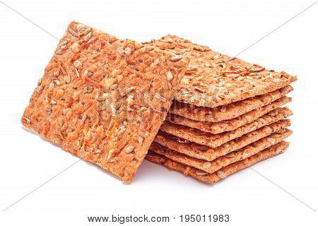 gluten free low calories fitness bread studio isolated closeup