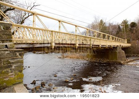 Iron Bridge over River