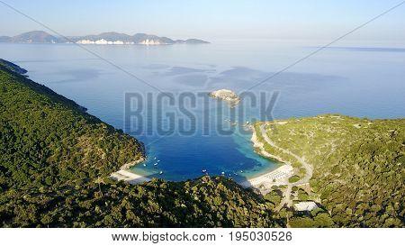 Ai Jerusalem beach on the Ionian Sea