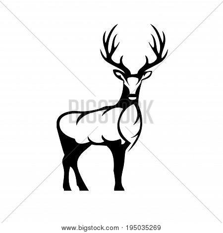 Deer icon. Deer icon art. Deer icon eps. Deer icon Image. Deer icon logo. Deer icon sign. Deer icon flat. Deer icon design. Deer icon vector.Eps8,Eps10