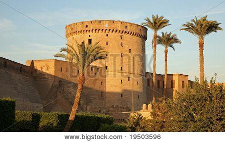 Citadel of Saladin in Cairo, Egypt