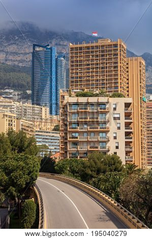 Monaco Monte Carlo. Monaco is the second smallest and the most densely populated country in the world.
