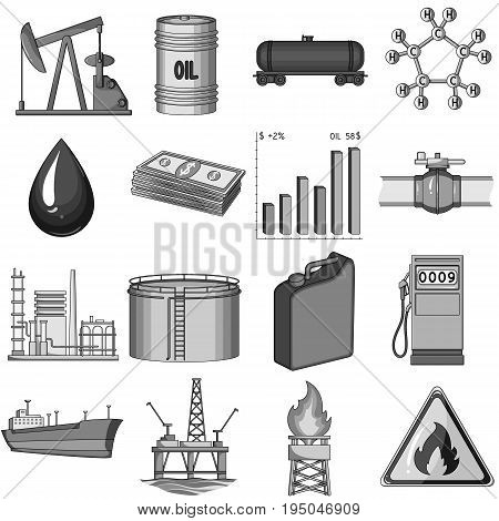 Camera, shout, Globe, objects for rewarding films.Movie Awards set collection icons in monochrome style vector symbol stock illustration.