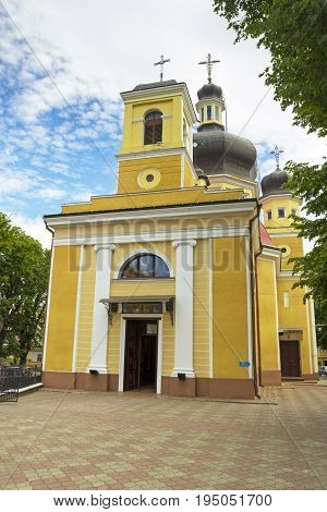 Dornmition greek catholic church in Chernivtsi Ukraine