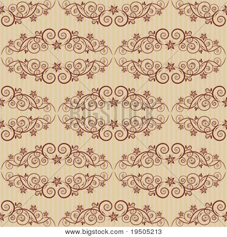 Seamless background. The classic elegant design. Beige. One layer. Striped vertical background. VECTOR (See Jpeg Also In My Portfolio)