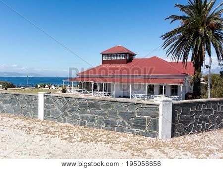 Cape Town South Africa - March 03 2017: Robben Island Guest House previously the commissioners house