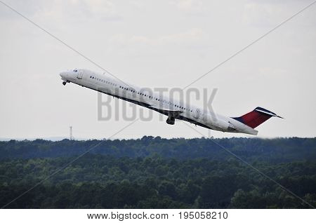Commercial Jet Airplane