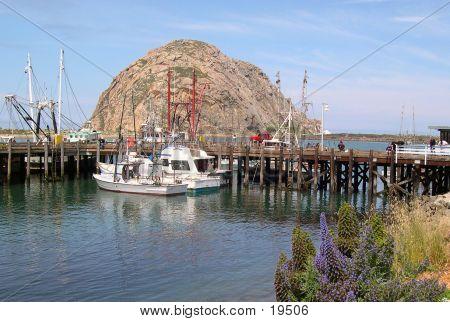 Embarcadero At Morro Bay