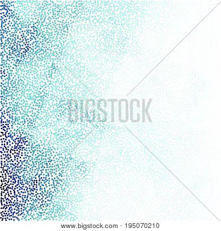 Stipple elegant blue vector gradient background image