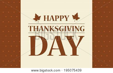 Happpy Thanksgiving day background vector flat collection