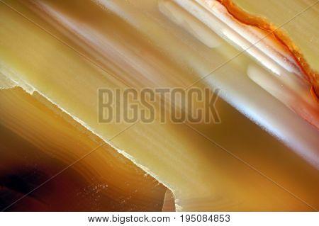 Gemstone Cornelian Macro Texture