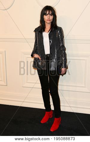 NEW YORK-MAR 31: Singer Isabella Manfredi attends the CHANEL Paris-Salzburg 2014/15 Metiers d'Art Show and Party at the Park Avenue Armory on March 31, 2015 in New York City.