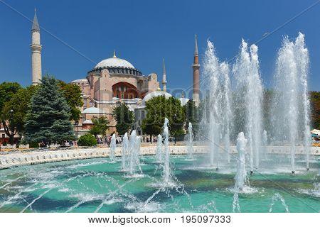 Hagia Sophia in Istanbul - Turkey