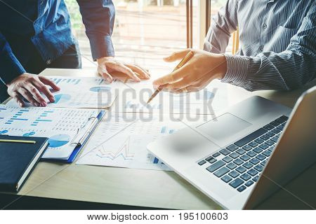 Business People Meeting Planning Strategy Analysis  Concept