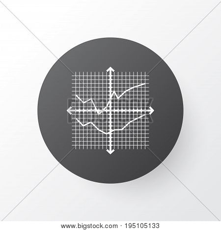 Grid Lines Icon Symbol. Premium Quality Isolated Outline Comparisons Element In Trendy Style.