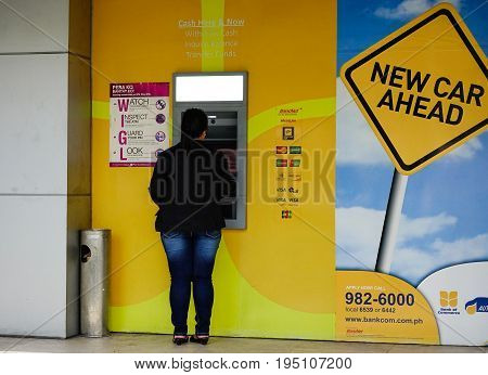 Atm Booths At Business District