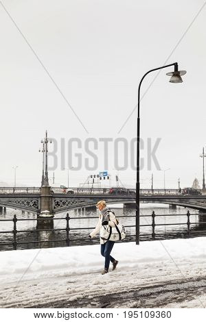 Winter View Of Stockholm