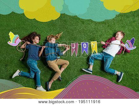 Kids Drag Rope