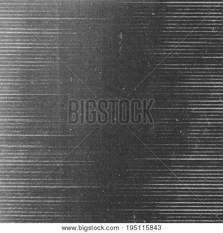 Abstract dark grunge photocopy texture background with horizontal lines