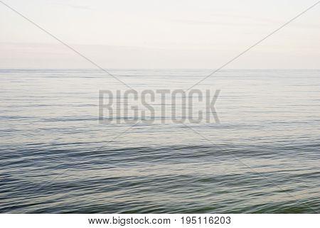 calm sea in winter, baltic sea background