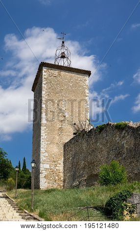 Watchtower In Riez. Riez Is Town In  The Alpes-de-haute-provence Department. France