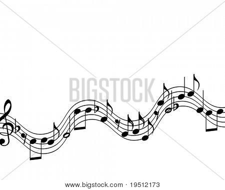 music theme. (Version vector