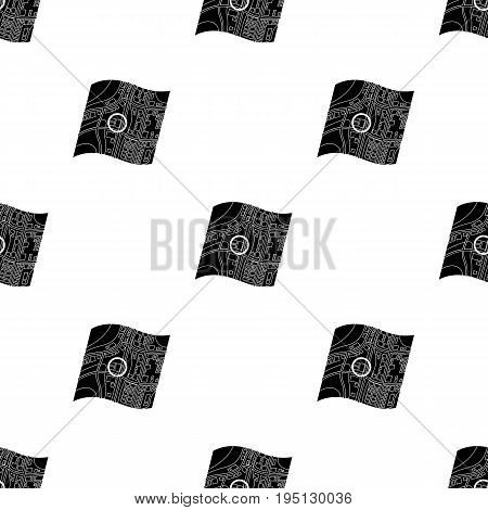 Location on the map.Realtor single icon in black style vector symbol stock illustration .