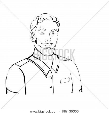 army, art, background, beanie, beard, beautiful, brutal, catering, character, clothes, dispatcher, drawn, face, forest, forester, forestry, green, hair, hand, hipster, hunting, icon, illustration, isolated, line, male, man, mouth, nature, outline, pant, p