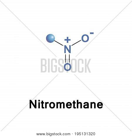 Nitromethane is an organic compound with the chemical formula CH3NO2. It is the simplest organic nitro compound.