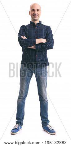 Full Body Casual Man