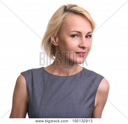 Beautiful Mid Age Business Woman